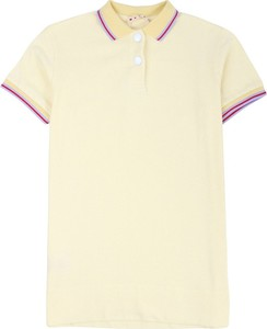 Żółty t-shirt Marni w stylu casual