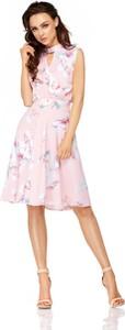 Różowa sukienka Lemoniade bez rękawów