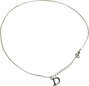 Dior Capital Letter Necklace