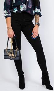 Czarne jeansy Olika z jeansu w stylu casual