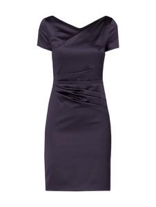 Sukienka Marie Noir z satyny