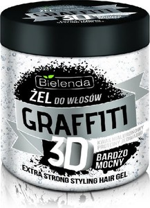Bielenda, Graffiti 3D, żel do układania włosów, bardzo mocny, 250 ml