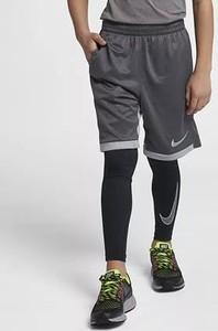 Granatowe legginsy dziecięce Nike