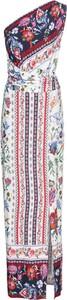 Sukienka bonprix BODYFLIRT boutique z asymetrycznym dekoltem maxi