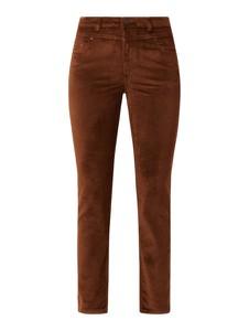 Brązowe spodnie Esprit z bawełny