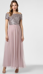 Sukienka Hailey Logan maxi z krótkim rękawem