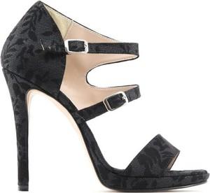 Sandały Made In Italia ze skóry z klamrami