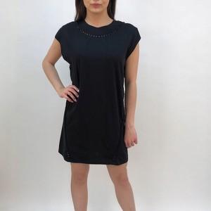 Czarna sukienka Diesel prosta