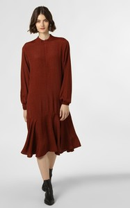 Czerwona sukienka Minimum dla puszystych midi
