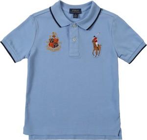 Niebieska koszulka dziecięca POLO RALPH LAUREN
