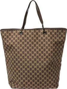 Brązowa torebka Gucci w stylu retro