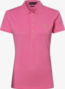 Różowy t-shirt POLO RALPH LAUREN z krótkim rękawem