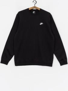 Czarna bluza Nike z bawełny