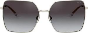 Czarne okulary damskie Ralph Lauren