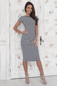 67b8c7e880 sukienka styl marynarski. - stylowo i modnie z Allani