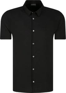 Koszula Emporio Armani z krótkim rękawem