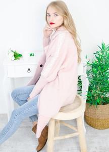 Różowy płaszcz Olika