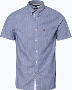 Koszula Tommy Hilfiger w stylu casual z krótkim rękawem z bawełny