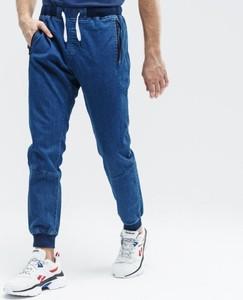 Niebieskie spodnie sportowe Up8