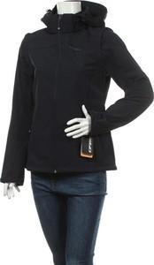 Czarna kurtka Icepeak w sportowym stylu krótka