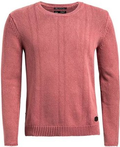 Różowy sweter khujo