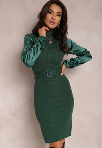 Zielona sukienka Renee w stylu casual