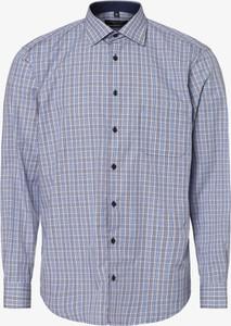 Niebieska koszula Andrew James z długim rękawem