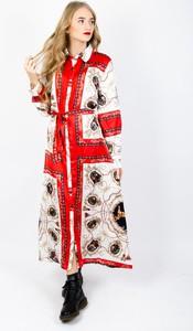 Sukienka Olika maxi z satyny