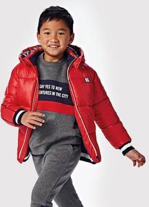 Czerwona kurtka dziecięca Mayoral dla chłopców