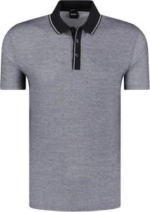 Koszulka polo Boss z krótkim rękawem w stylu casual