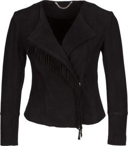 Czarna kurtka Marella w stylu boho
