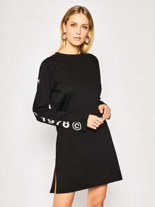 Sukienka Diesel w stylu casual z długim rękawem mini