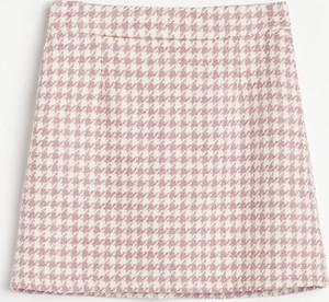 Różowa spódnica Reserved mini