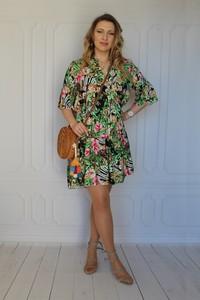 Sukienka arioso.pl z długim rękawem