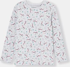 Koszulka dziecięca Sinsay z długim rękawem dla dziewczynek