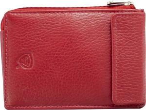 Czerwony portfel męski Koruma