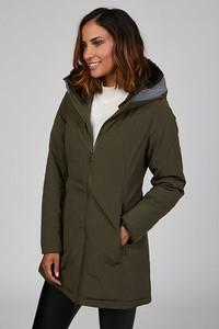 Zielony płaszcz Le Comptoir Du Manteau