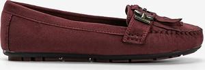 Czerwone buty Gemre.com.pl z płaską podeszwą