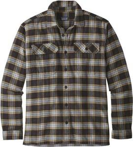 Koszula Patagonia z bawełny z klasycznym kołnierzykiem w stylu casual