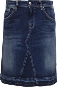Spódnica Pepe Jeans midi w street stylu