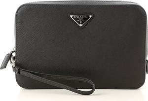 6b1d69ac19aa6 Czarny portfel męski Prada