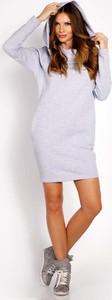 Sukienka Lou-Lou sportowa mini z długim rękawem