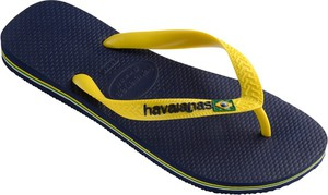 Granatowe buty letnie męskie Havaianas