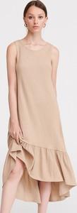 Sukienka Reserved bez rękawów w stylu casual