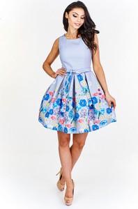 Sukienka Bicotone bez rękawów z okrągłym dekoltem