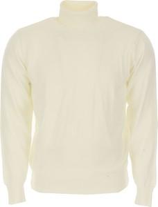 Żółty sweter Rossopuro z wełny
