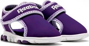 Buty dziecięce letnie Reebok na rzepy ze skóry