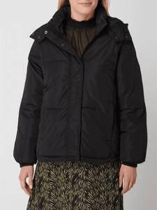 Czarna kurtka Moss Copenhagen krótka w stylu casual