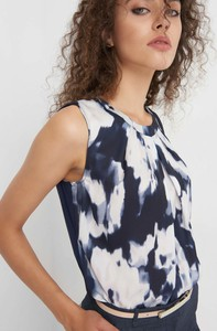 Granatowa bluzka ORSAY