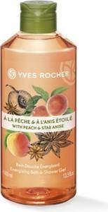 Yves Rocher Energizujący żel pod prysznic i do kąpieli Brzoskwinia & Anyż